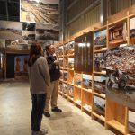 ポータルセンター 震災の写真展示