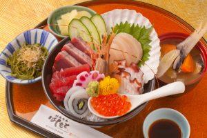 今日の一丼!「創菜旬魚 はしもと」のキラキラ秋旨丼