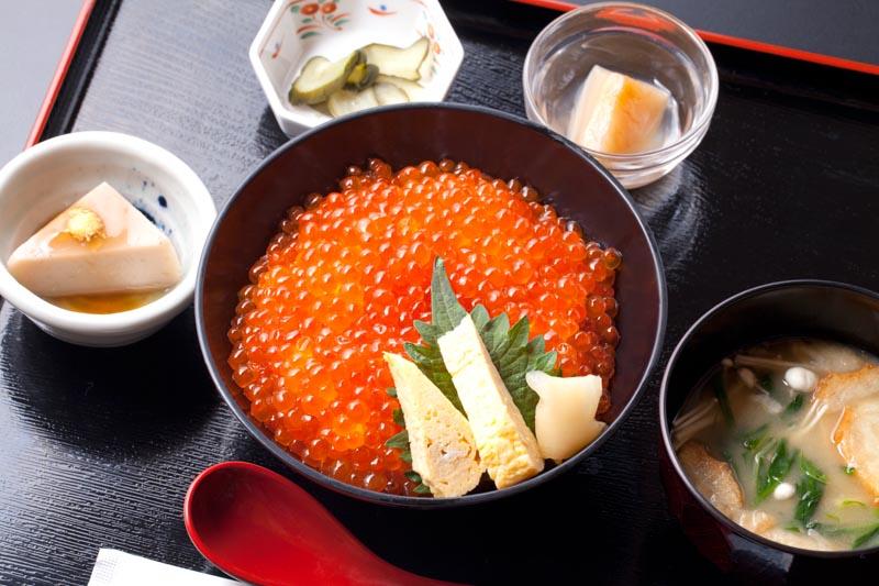 今週の1丼「山内鮮魚店 静江舘」のキラキラいくら丼!