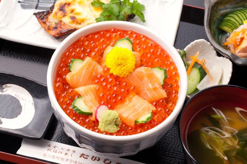 今週の1丼「寿司・御食事処 たいしゅう」のキラキラいくら丼!