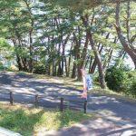 神割崎キャンプ場 遊歩道