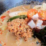 タコ味噌担担麺 ¥800(税込)