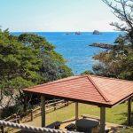 神割崎キャンプ場 海景色