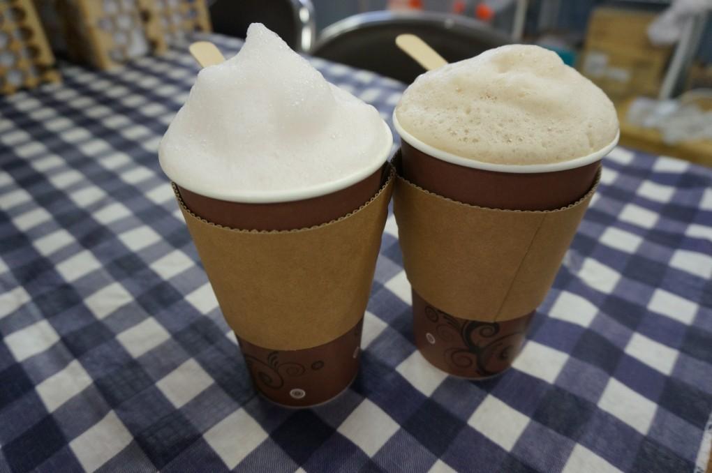 淡雪フォームドミルク!冬季限定オリジナルホットドリンク『スノージー』