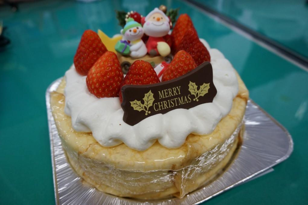 オーイング菓子工房Ryoでクリスマスケーキを当日販売します!!