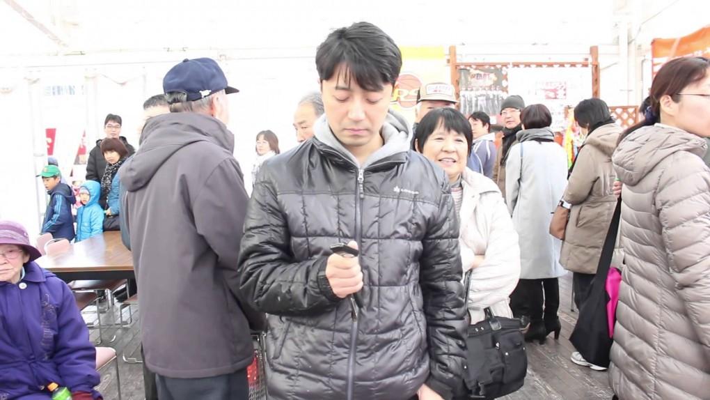 29日「ガラポン抽選会」初日の模様!