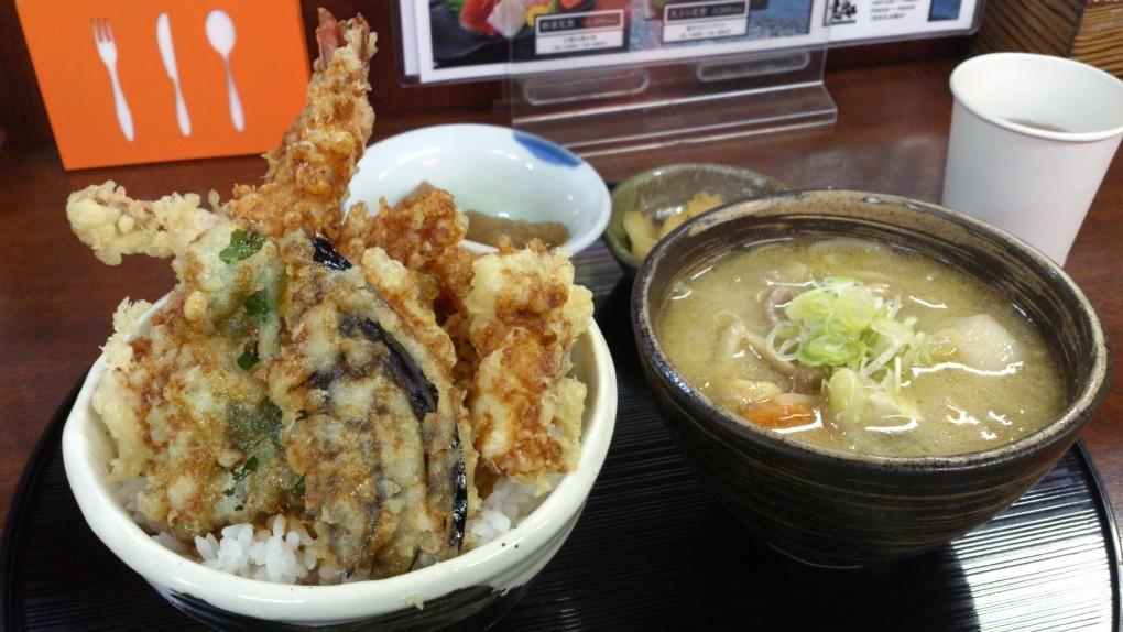 志のやの絶品『天丼セット』!