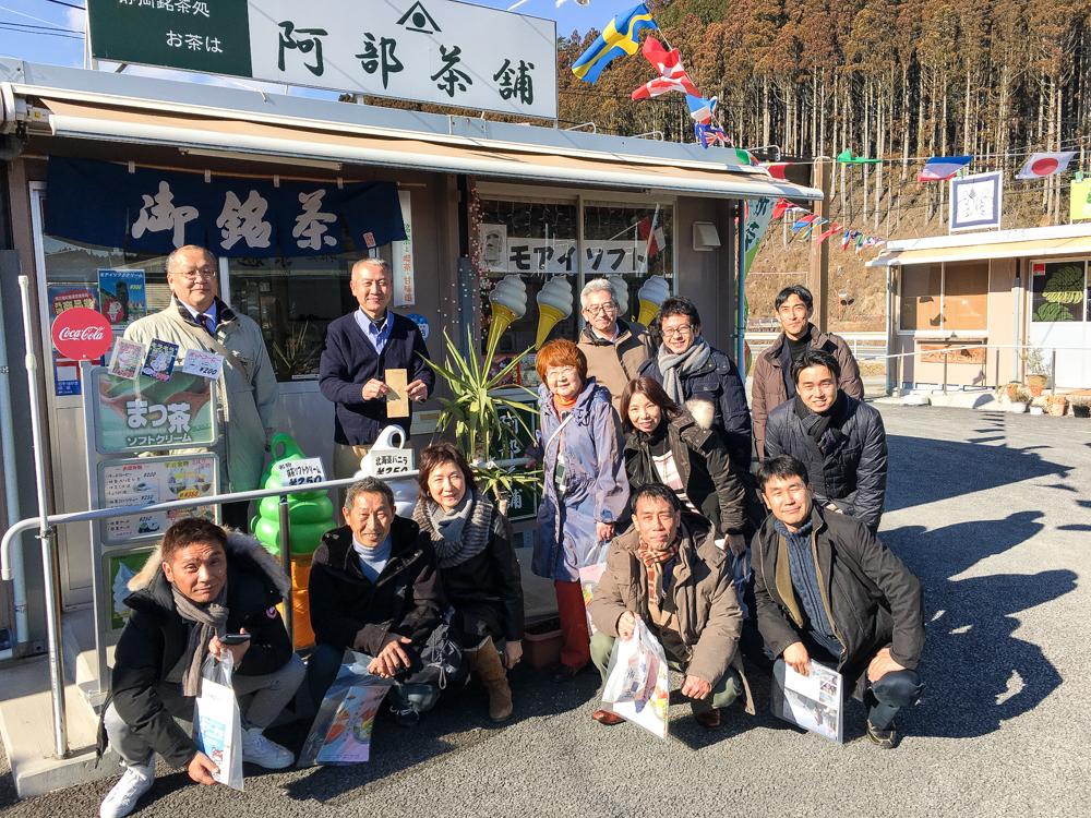 戎橋筋商店街(大阪)の皆様が商店街に遊びに来てくれました!