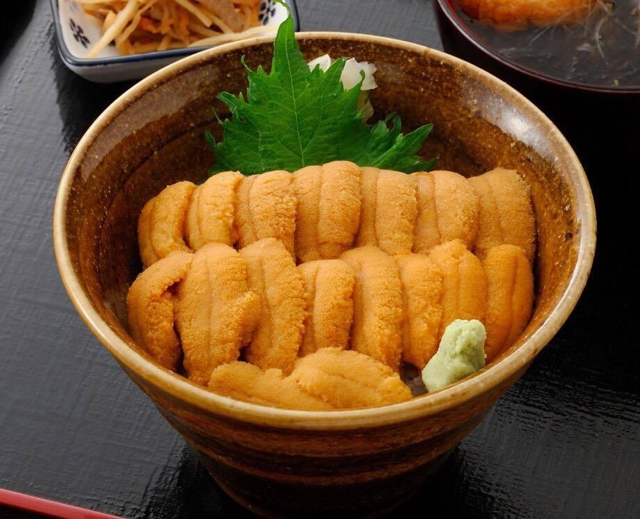 今週のイチ丼「弁慶鮨」のキラキラうに丼!
