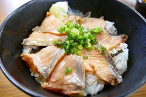 弁慶鮨の試作品!『銀治郎の炙り丼』!