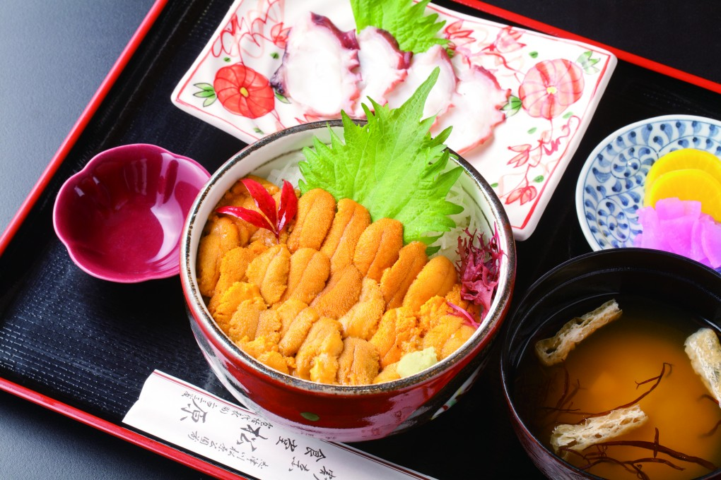 今週のイチ丼「松原食堂」のキラキラうに丼!