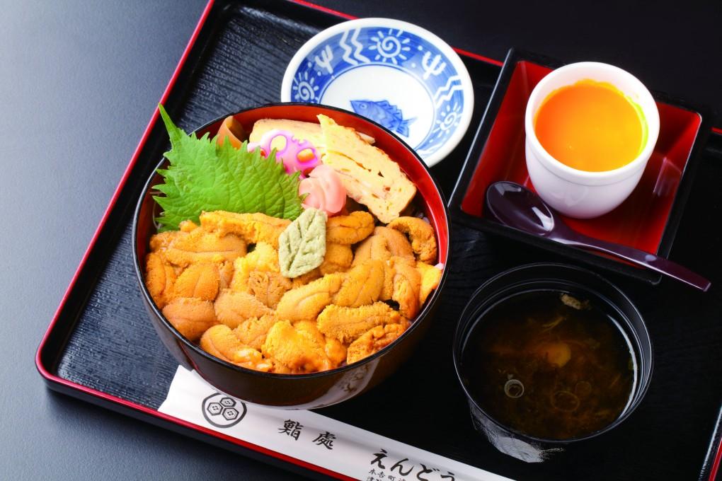 今週のイチ丼!「鮨処 えんどう」のキラキラうに丼