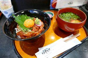 【※平日限定】みやぎサーモンのユッケ丼ランチが食べられるのも、後2日!