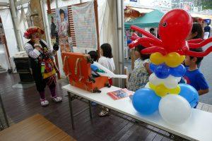 バルーンアーティスト・クラウンチョク!明日7月2日(日)バルーンイベント開催!