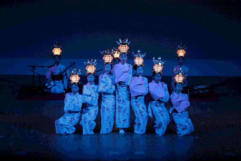 明日、開催!熊本県立鹿本農業高等学校 郷土芸能伝承部による「山鹿灯篭」演舞!