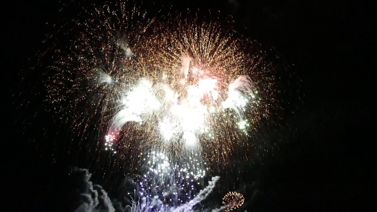 土曜日の商店街ベント&志津川湾夏まつり福興市メッセージ花火!