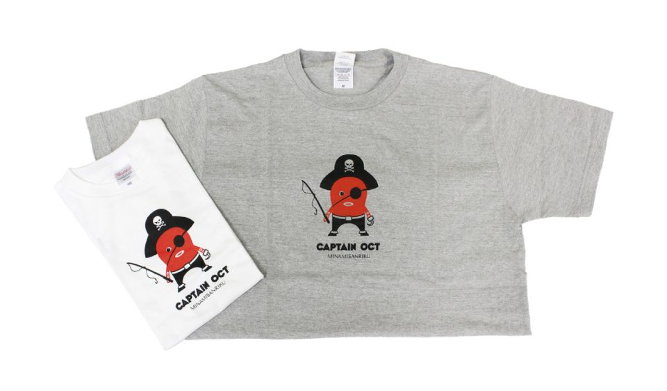 キャプテンオクト-Tシャツ