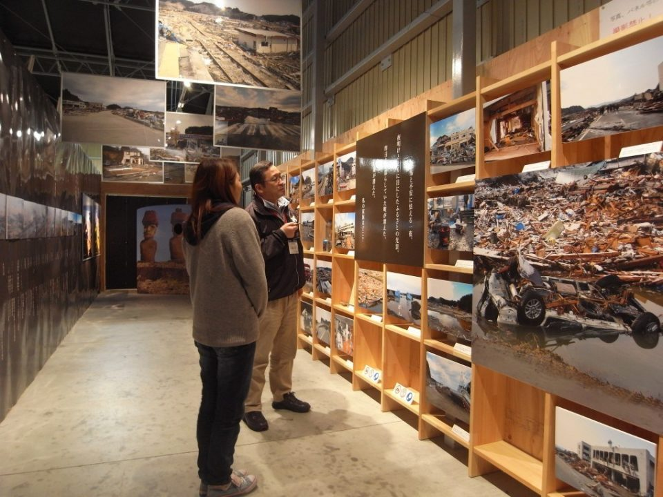 『3.11東日本大震災の写真』が展示中