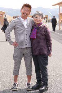 泉ピン子さんと勝俣州和さんがやって来た!明日の朝は『旅サラダ』をご覧ください!