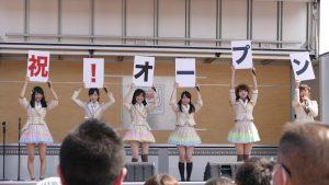 AKB48がやって来た!本日の商店街の様子!