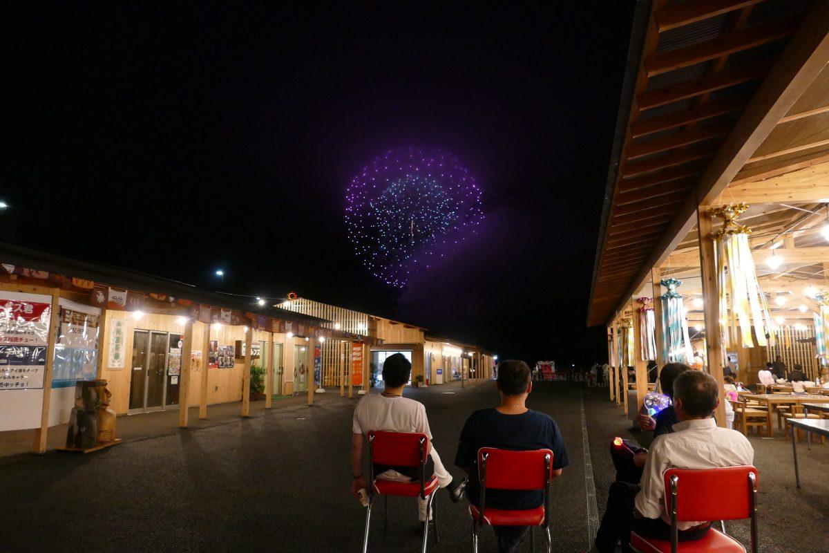 志津川湾夏祭り福興市『南三陸夢メッセージ花火打ち上げ』は予定通り打ち上げが決定致しました!