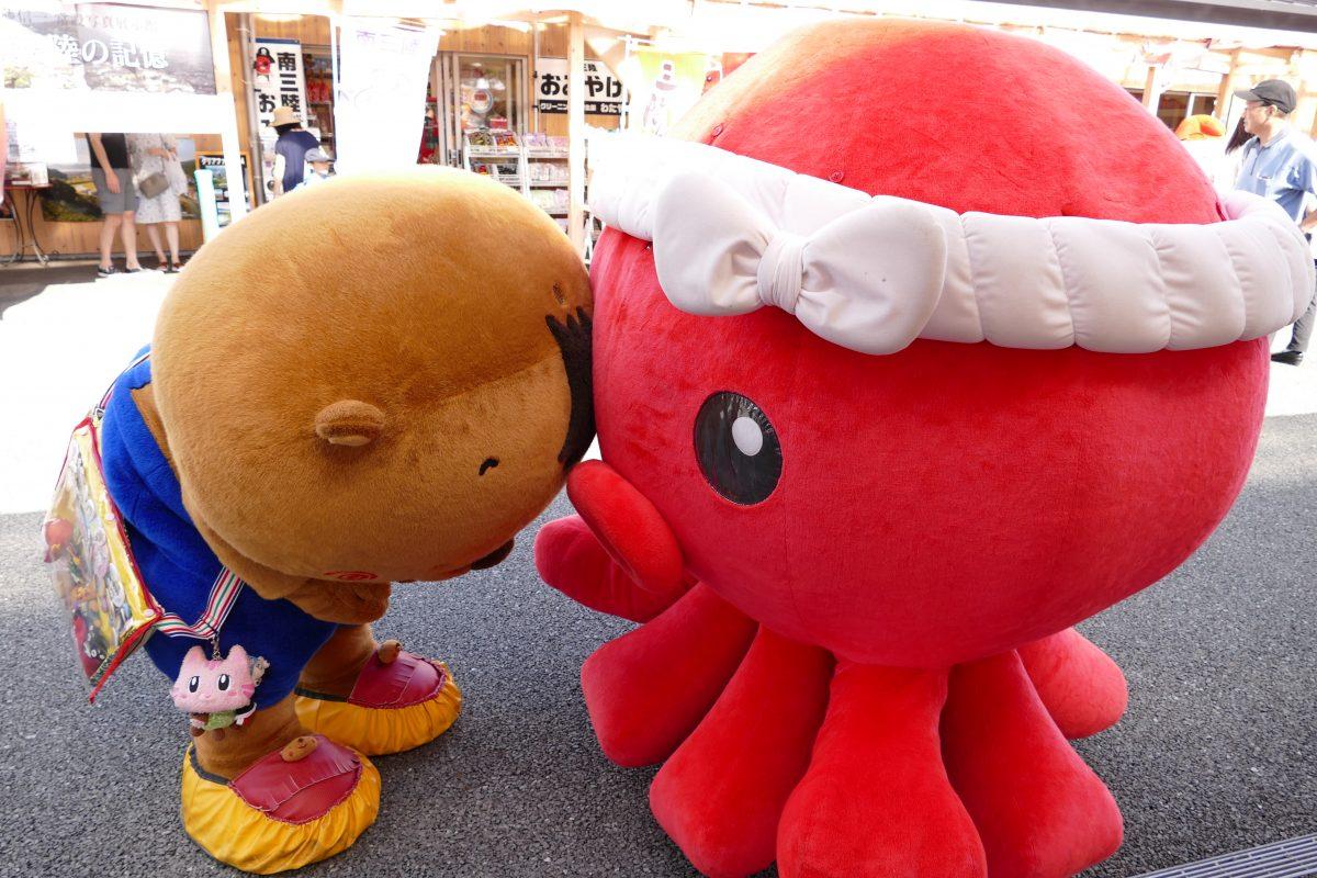 今週末8月25日(土)ご当地キャラクター訪問&音楽イベントを開催!