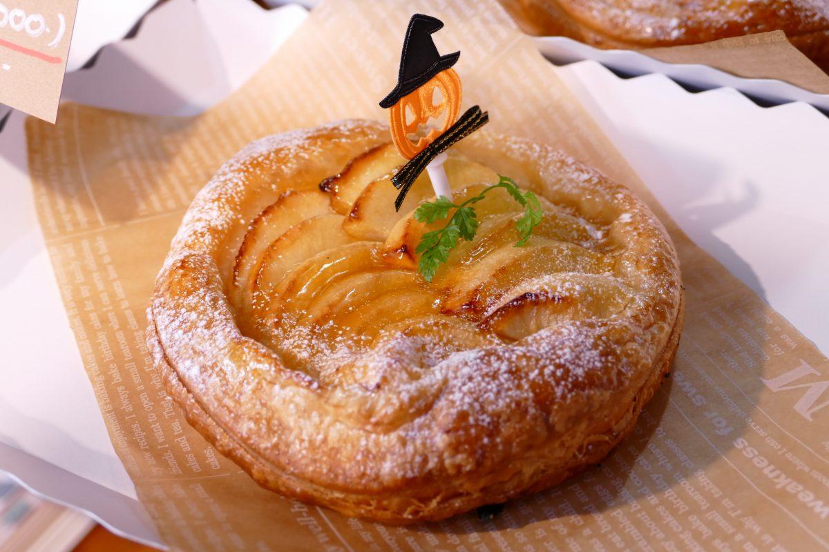 """宮城県でしか栽培してない超希少なリンゴ!南三陸町入谷産の『サワールージュ』を丸々1個使用した""""アップルパイ""""!"""