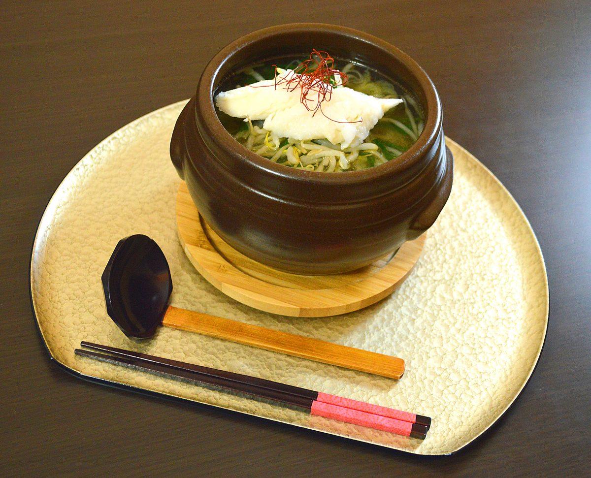 「食楽 しお彩」の寒鱈熱々メニュー!寒鱈フェスティバル大好評開催中!