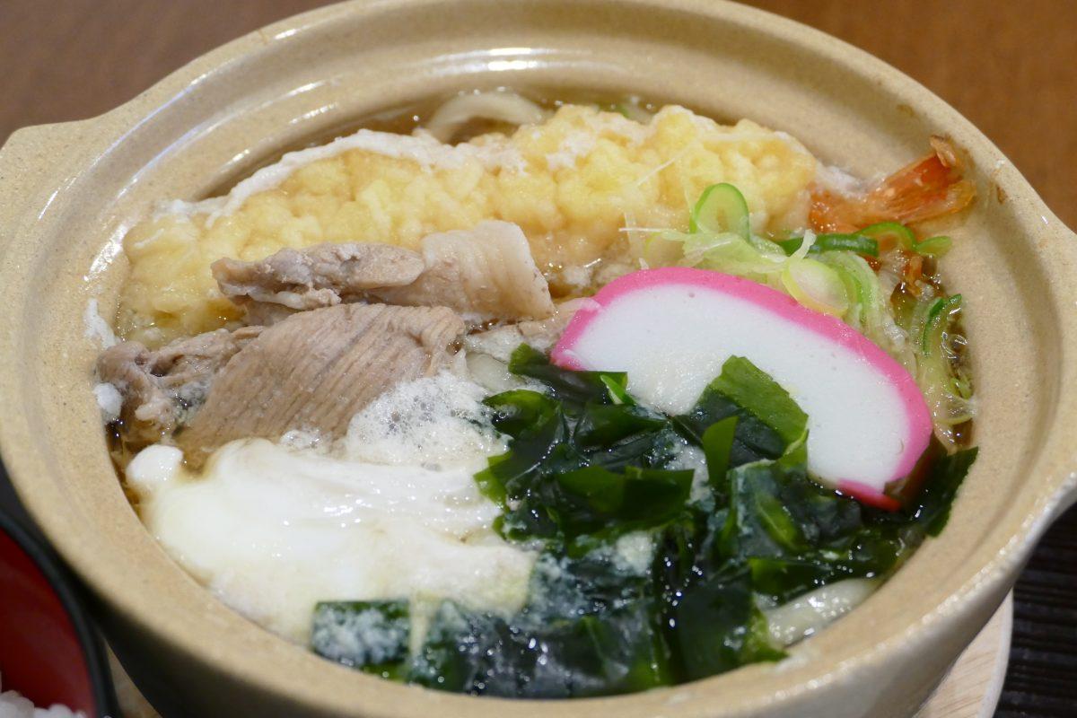 寒い時期にピッタリ!阿部茶舗の冬季限定『鍋焼きうどん』!