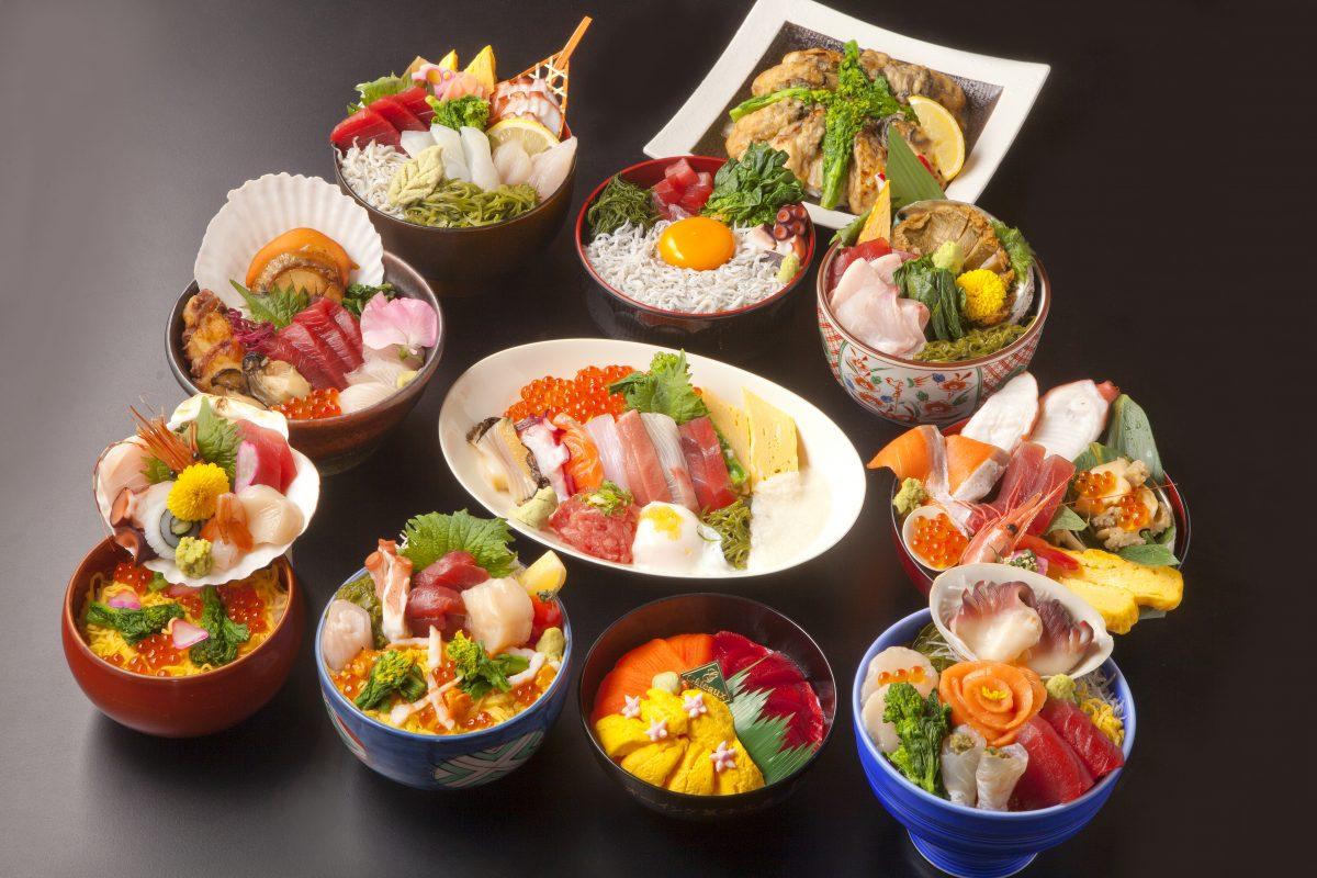新鮮な魚介類と南三陸春告げ野菜のコラボレーション!明日3月1日(金)から『南三陸キラキラ春つげ丼』が提供開始!