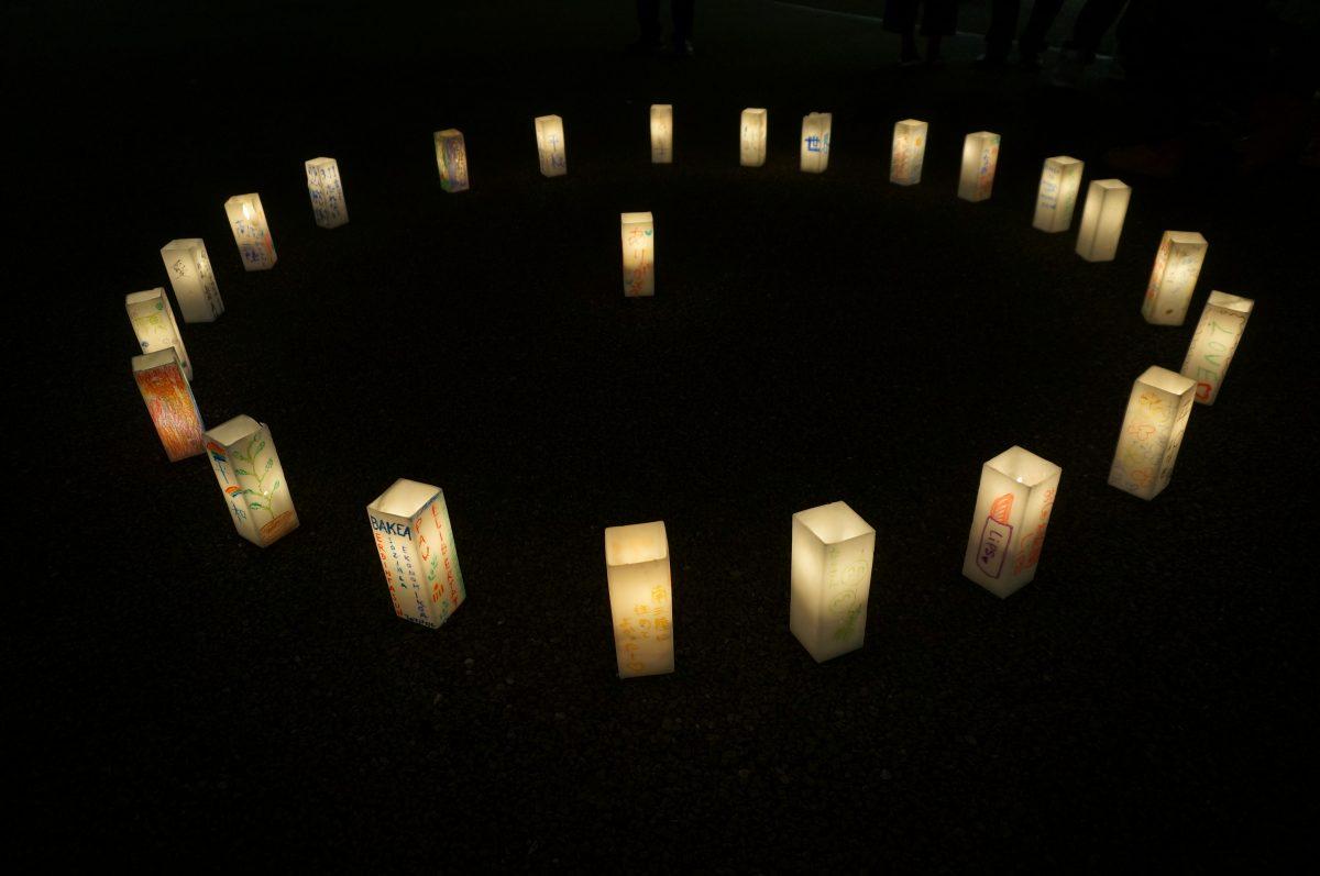 『ストリートピアノでつなぐ祈りのハーモニー』&『3・11 夢灯り 絆 手作りキャンドル点灯セレモニー』の様子!