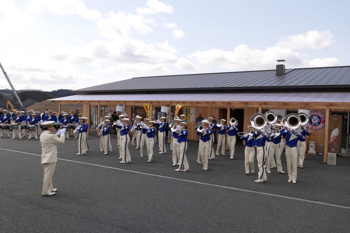 明日3月24日(日)茨城県立大洗高等学校 第7回こころのボランティアマーチングバンド「BLUE-HAWKS」演奏会を開催!