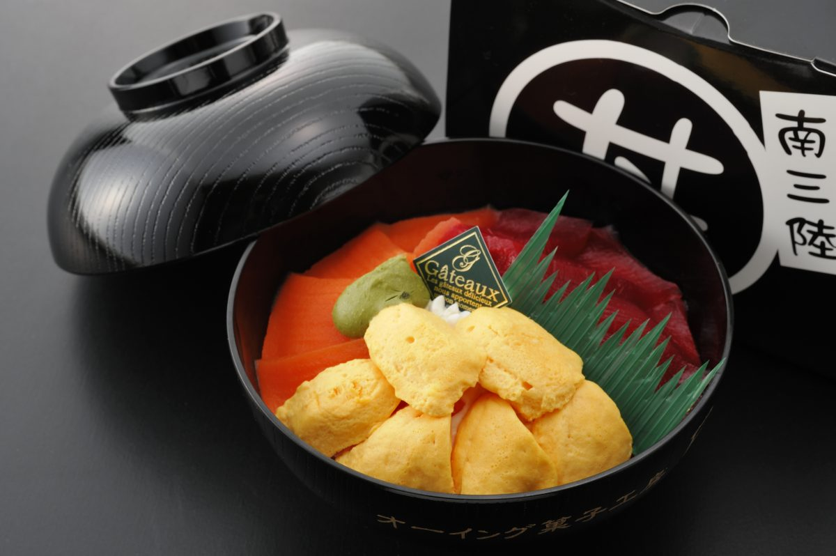 今週のイチ丼!番外編!「オーイング菓子工房 Ryo」のスイーツキラキラ丼!
