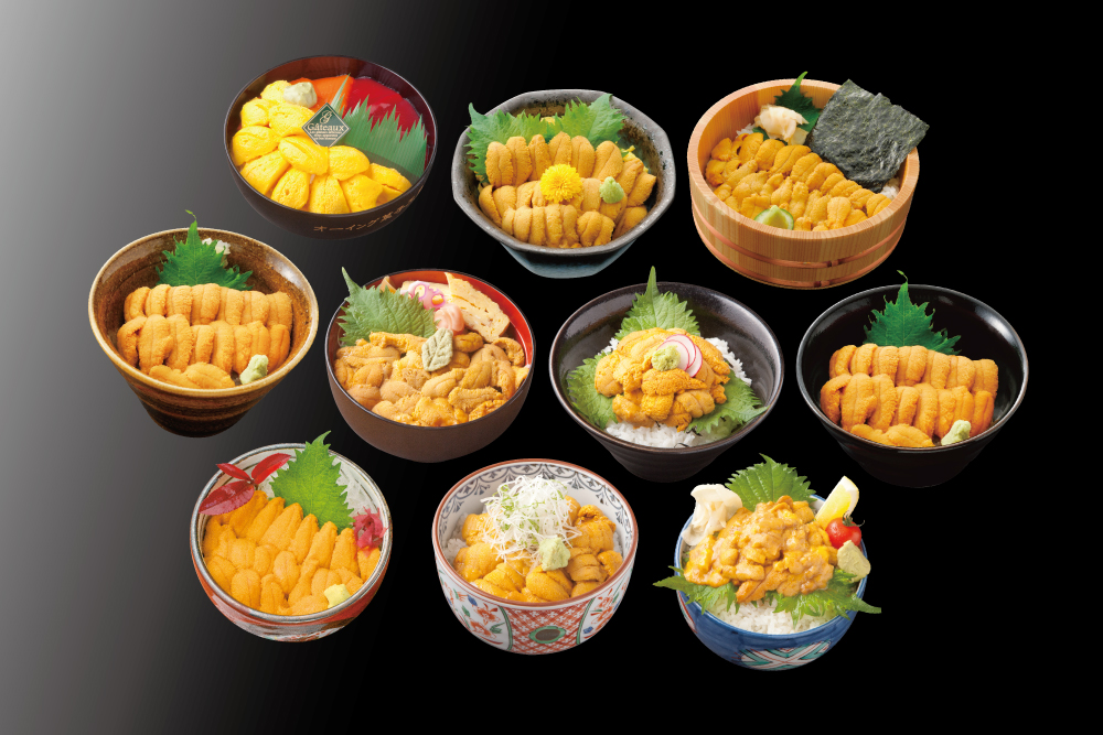 """口の中でとろける最高の""""うに""""を食べられるまで後2週間!5月1日(火)から『キラキラうに丼』提供開始!"""