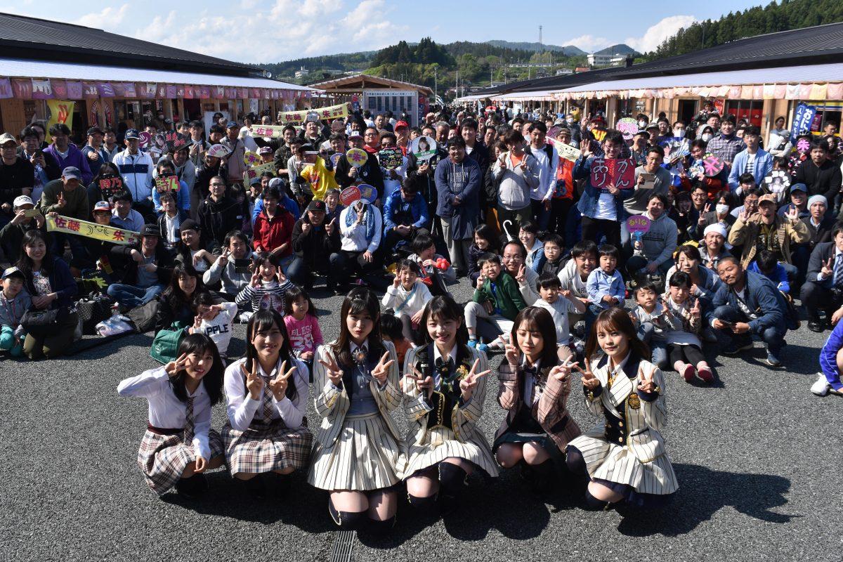 AKB48Gがやって来た!イベント盛りだくさんの1日でした!