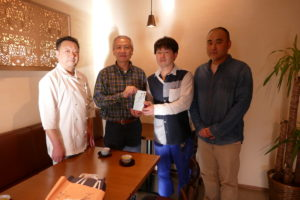 5年連続!石川県金沢市『せせらぎ通り商店街振興会』様より義援金を頂戴いたしました!