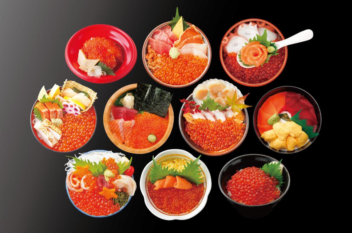 『南三陸キラキラいくら丼』大好評提供中!海の宝石いくらがたっぷり!