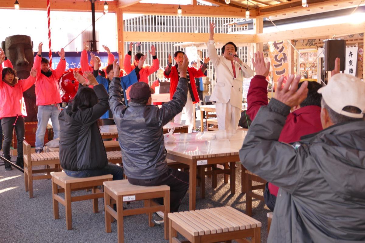 昨日行われた『三輪一雄/三輪一雄 応援団』歌謡ショーの様子!