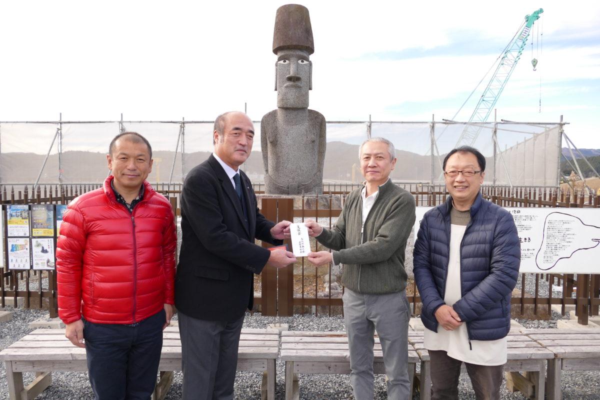 """茨城県""""古河市商工会建設業部会""""様より支援金を頂戴いたしました!"""