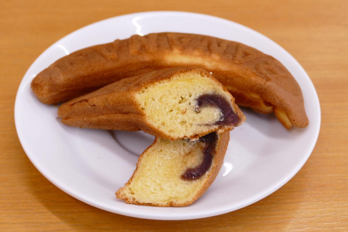 """南三陸町の銘菓といえば?""""高貞菓子店""""の『バナナ焼き』!さんさんマルシェで好評販売中!"""