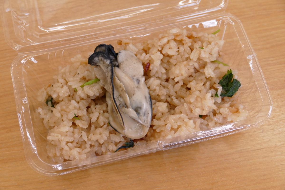 """ロイヤルフィッシュにて週末""""限定""""販売!大ぶりの南三陸産""""牡蠣""""が入った手作り『かき飯』!"""