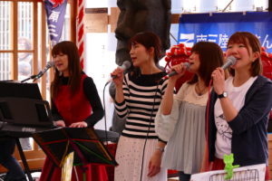 ゴールデンウィーク最終日5月6日(月・祝)のミニコンサートの様子!