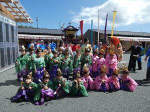 たりずすこらーず合唱コンサート&稚児行列・神輿渡御が行われました!