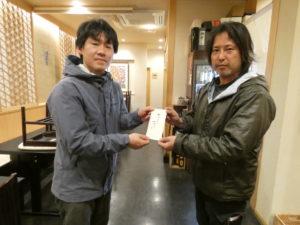 6年連続!石川県金沢市『せせらぎ通り商店街振興会』様より義援金を頂戴いたしました!