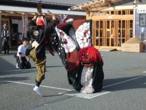 """【イベントレポート】""""獅子踊り""""と""""獅子舞""""披露が行われました!"""