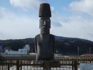 """南三陸町のモアイ像贈呈の功労者""""彫刻家『マヌエル・トゥキ』氏""""のご冥福をお祈りいたします。"""