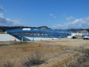 【定点観測】中橋の工事状況!仮橋脚が外れました!