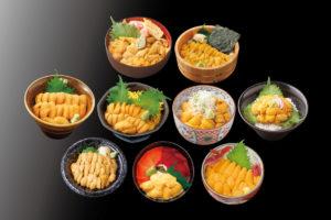"""7月は『うに』が""""特に美味い""""!『キラキラうに丼』大好評提供中!"""
