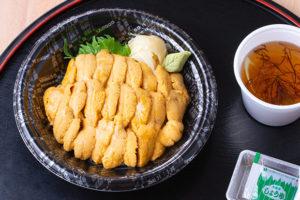 今週のイチ丼!自分で作る『山内鮮魚店』のキラキラうに丼!