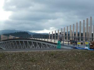 【定点観測】中橋の工事状況!床版施工が始まりました!そろそろ開通!?